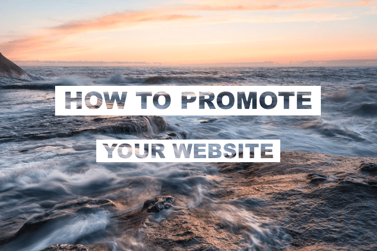 Promote your own website Tip #1