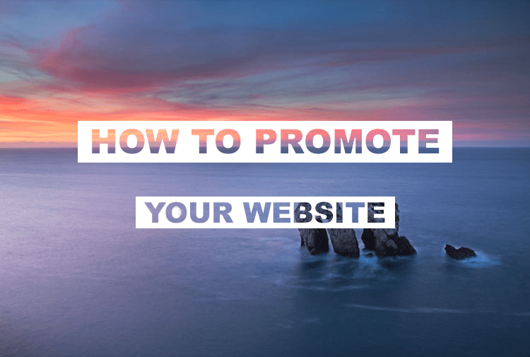 Promote your own website Tip #3