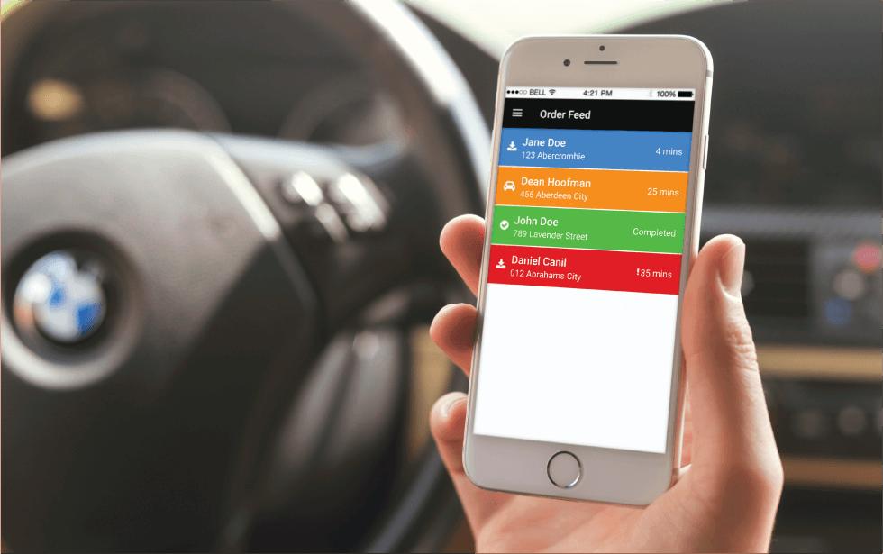 Deliverit Driver Tracking